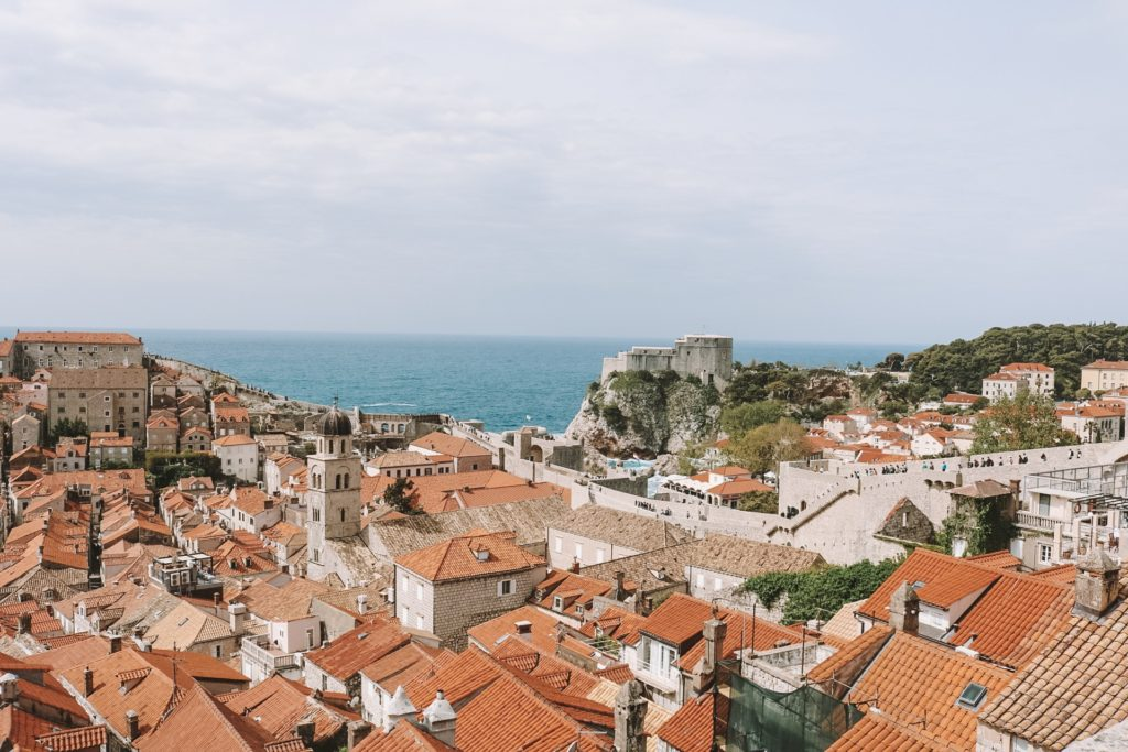 View from city walls