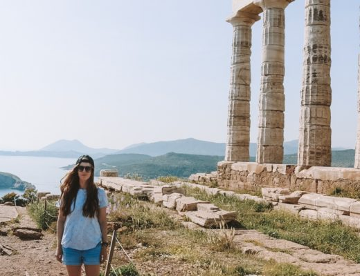 Temple of Poseidon in Athens