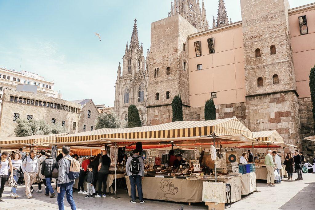 Gothic quarter restaurant Barcelona