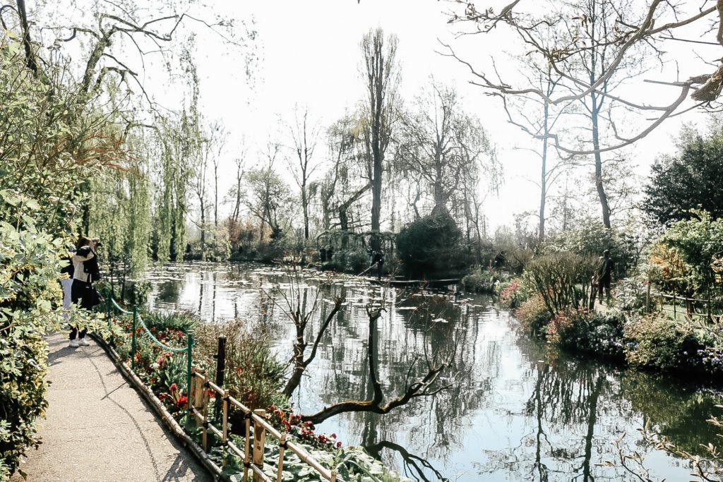 Water lily pond at Giverny