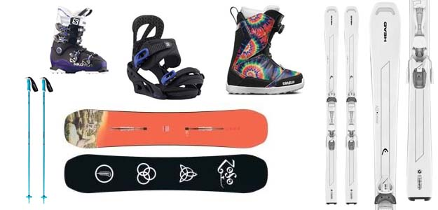 Best ski and snowboard gear