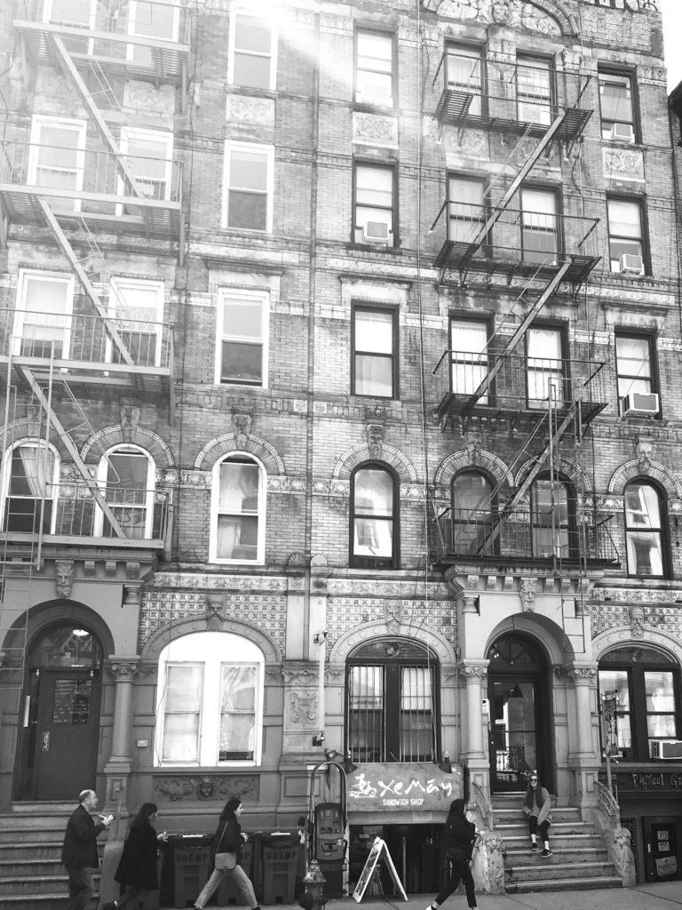 Physical Graffiti building NYC